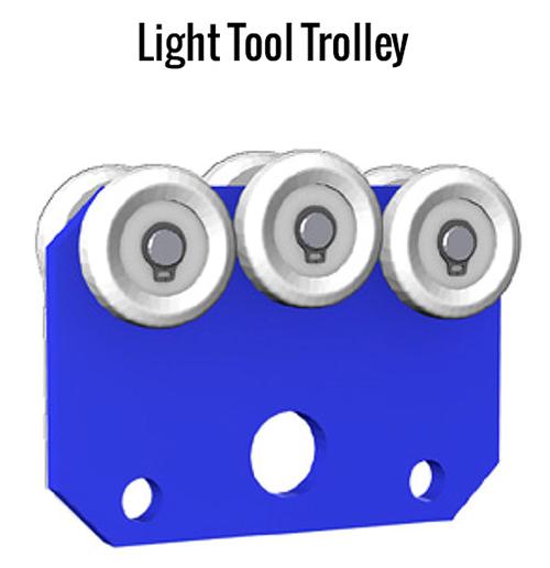Gorbel Enclosed Track Light Tool Trolley