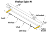 Gorbel Wall Bracket I-Beam Jib Crane Tagline Kit