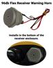 96dB Flex EX2 Receiver Mounted Warning Horn