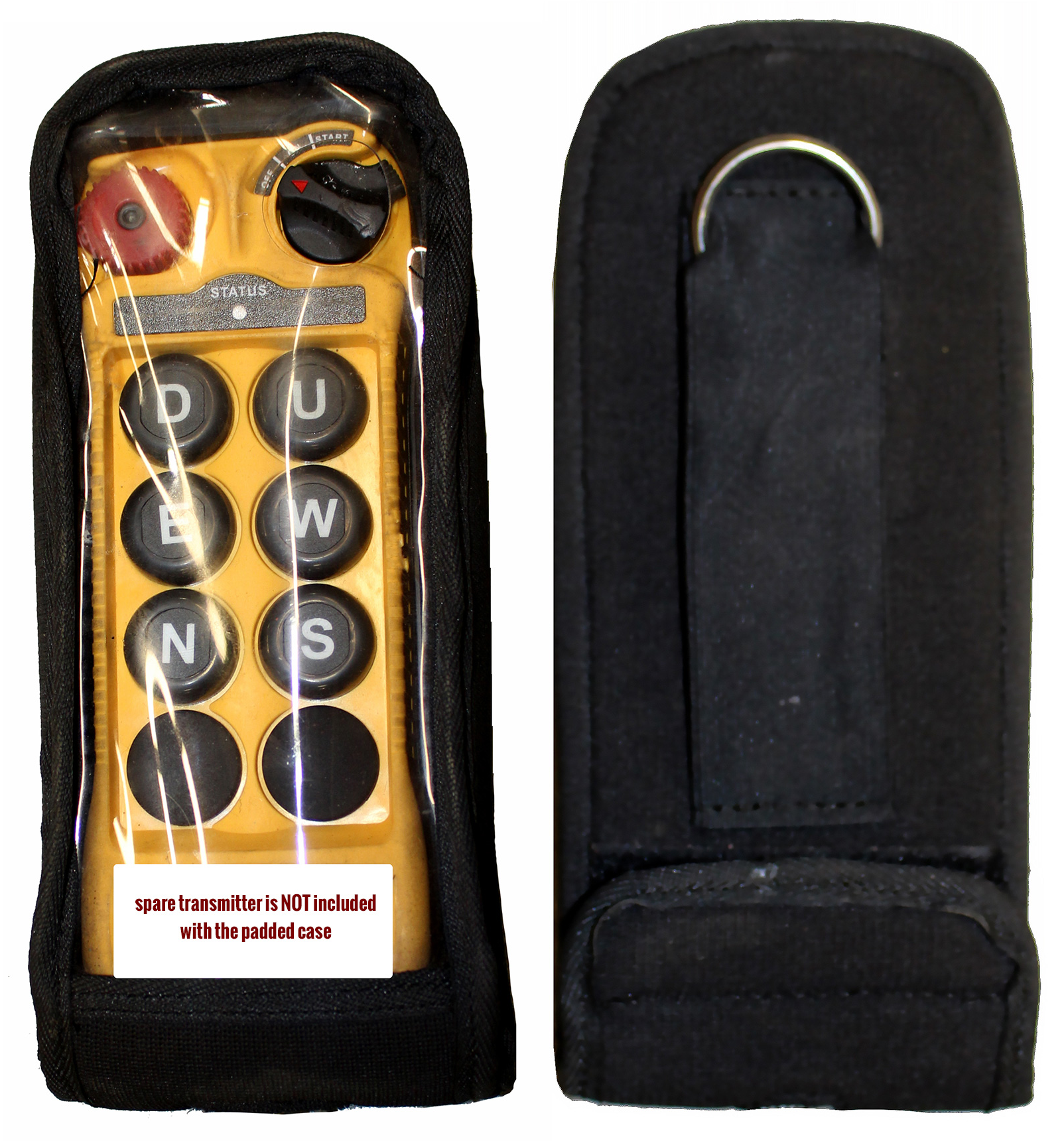 Flex Transmitter Protective Padded Case