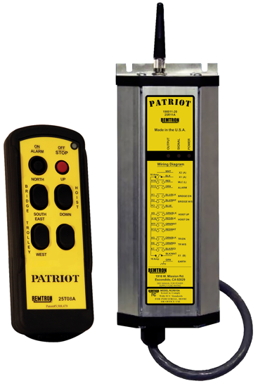 Remtron Patriot Radio System, 3-Motion, 1-Speed