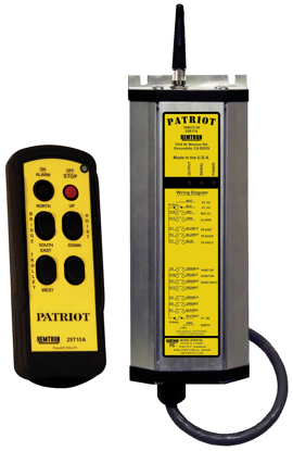 Remtron Patriot Radio System, 2-Motion, 2-Speed