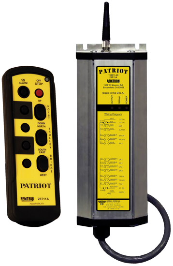 Remtron Patriot Radio System, 3-Motion, 2-Speed