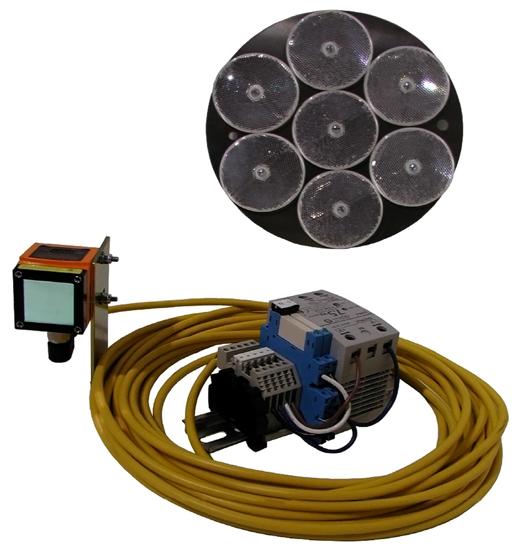 Crane Anti-Collision System, Model No. CAS-2L100