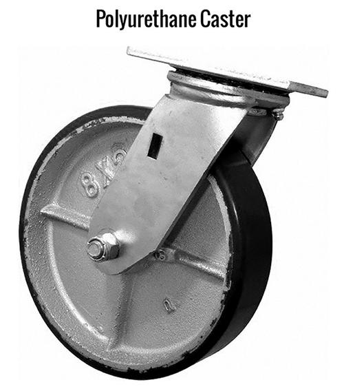 Gorbel Gantry Crane Polyurethane Caster