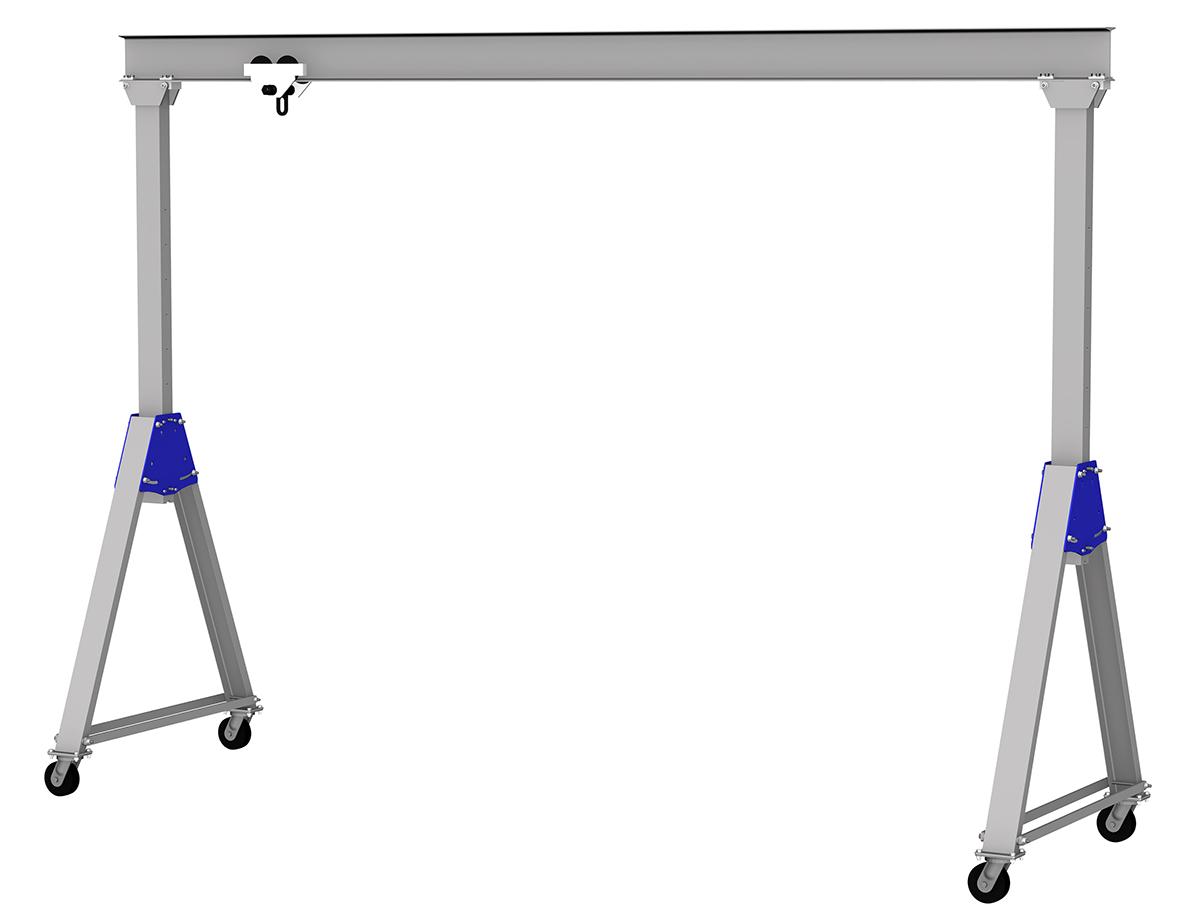Gorbel Adjustable Height Aluminum Gantry Crane