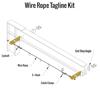 Gorbel Wall Cantilever I-Beam Jib Crane Tagline Kit