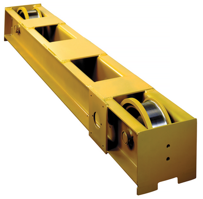 Yale 5-Ton Top Running Push Type End Trucks, 904535