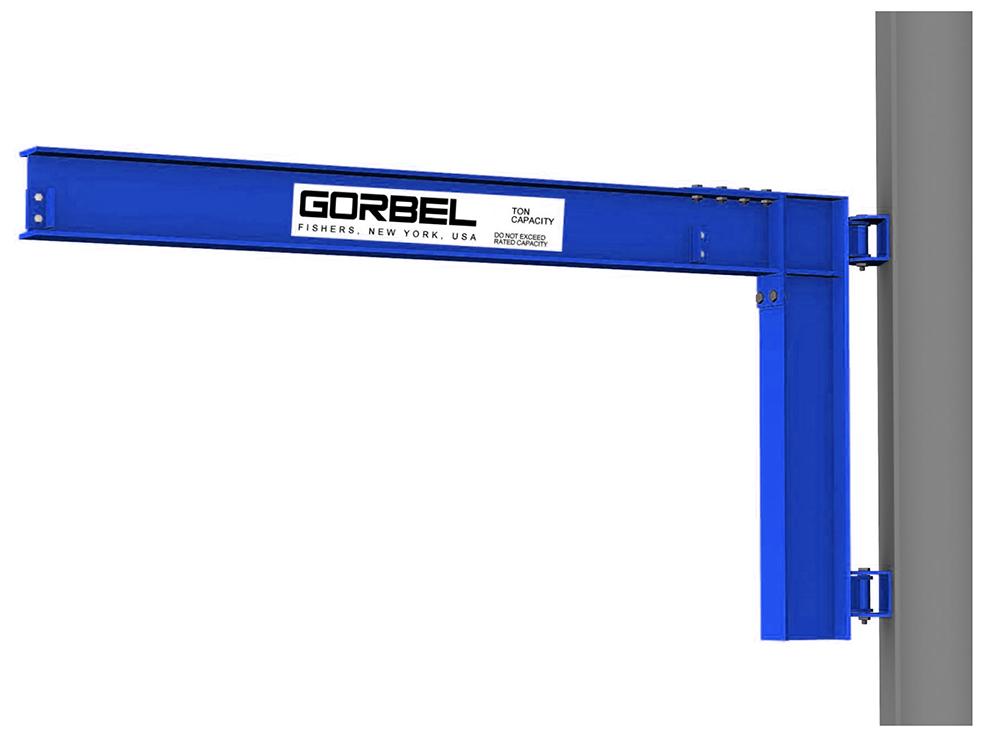 Gorbel Wall Cantilever I-Beam Jib Crane
