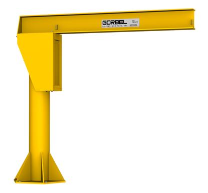 Gorbel FS300 Free Standing Jib Crane