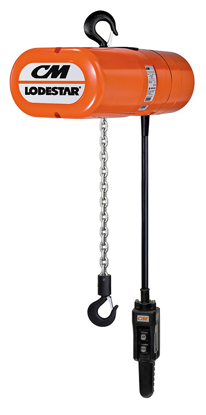 CM LodeStar Electric Chain Hoist