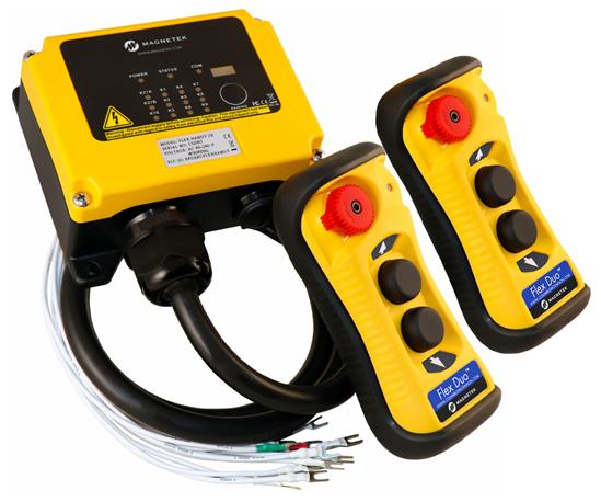 Flex Duo Wireless Radio System w/ Receiver and 2 Transmitters